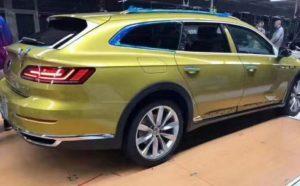 Универсал Arteon от Volkswagen появиться в июне