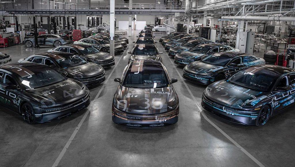 Lucid Air конкурент Tesla