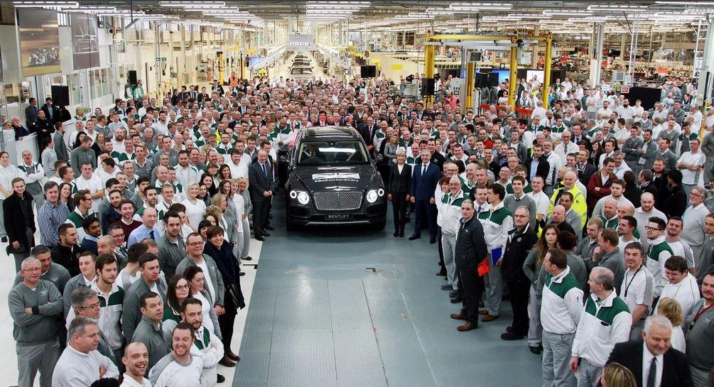 Кризис коснулся всех. Bentley уволит 25% сотрудников.