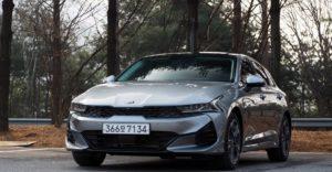 Kia Optima пятого поколения уже в РФ! Kia K5