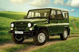 УАЗ Хантер за 2,3 млн рублей понравился Японцам