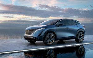 Nissan Ariya новый электрокроссовер