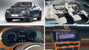 Новый Bentley Bentayga: первые фотографии салона