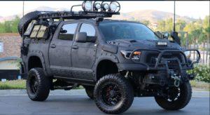 Тойота Тундра, подготовленная к зомби-апокалипсису продается в США