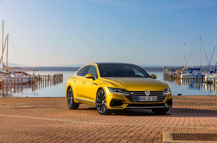 Volkswagen Arteon в кузове лифтбэк