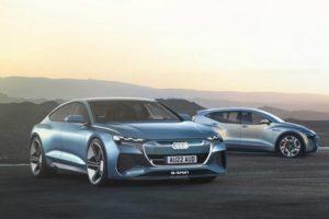 Audi A9 E-Tron электрический конкурент Mercedes-Benz EQS и Jaguar XJ