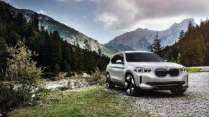 BMW iX3 – электрический кроссовер от BMW