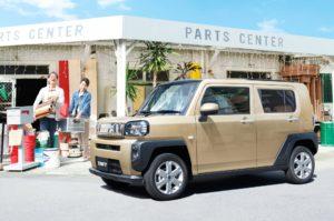 Daihatsu Taft огромный спрос в Японии