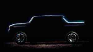 Электрический Hummer поступит продажу осенью 2021 года