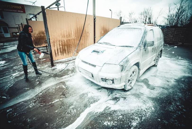 Эксплуатация автомобиля зимой. Как правильно мыть автомобиль зимой.