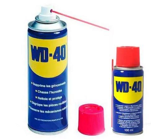 WD-40. Зимние аксессуары для авто