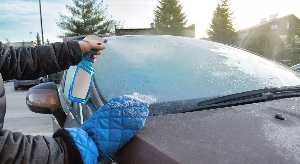 Антизапотеватели или антилёд, водоотталкивающий аэрозоль. Зимние аксессуары для авто