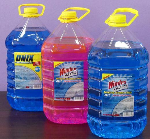 Незамерзающая жидкость. Зимние аксессуары для авто