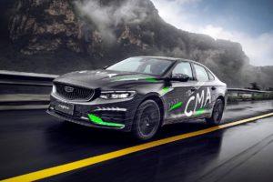 Geely Preface новый седан на базе Volvo