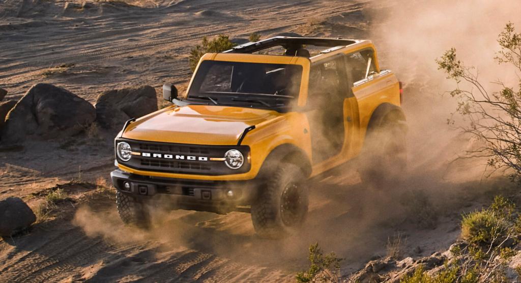 Ford Bronco фото