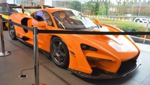McLaren Senna за миллион долларов попал в аварию