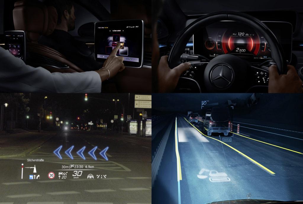 проекционный экран с дополненной реальностью