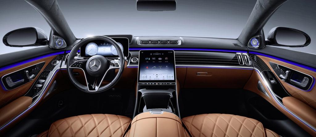 Mercedes-Benz S-Class W223 салон