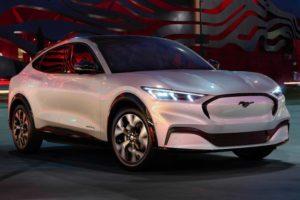 Ford Mustang Mach-E опубликовал официальные характеристики