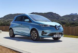 Renault Zoe самый продаваемый электромобиль в Европе в 2020 году