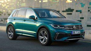 Volkswagen Tiguan с новой внешностью