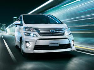 Toyota Vellfire – роскошный минивэн из Японии