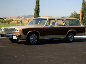 Ford Country Squire – Американская легенда
