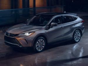 Toyota Venza 2021 возвращение гибридного кроссовера