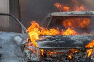 Chrysler Town и Country, возможно самовозгорание