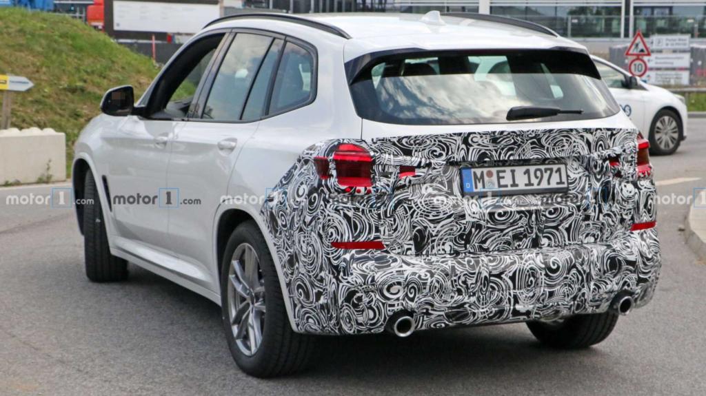 Рестайлинговый BMW X3
