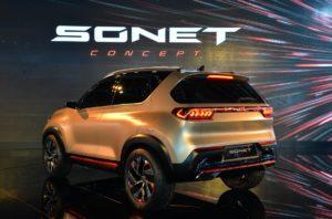 Kia Sonet 2020 с новой внешностью