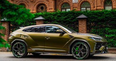 Lamborghini Urus от тюнинг-ателье SCL Global Concept