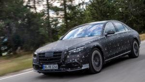 Mercedes-AMG S63e с 800-сильной гибридной установкой