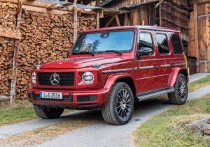 Mercedes-Benz G 350 получит двухлитровый мотор