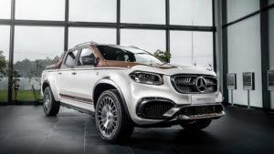 Mercedes-Benz X-Class с премиальным тюнингом.