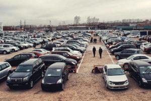 Популярные автомобили с пробегом на Российском рынке.