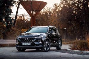 Hyundai Santa Fe лимитированная версия Black&Brown