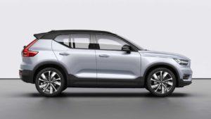 Volvo XC40 2021 получит три новых гибридных двигателя.