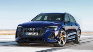 Audi e-tron S заряженные электромобили поступили в продажу