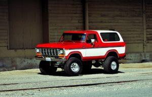 Ford Bronco история легендарного внедорожника