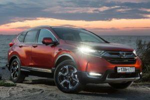 Honda CR-V 2020 объявлены цены на обновлённый кроссовер