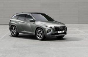 Hyundai Tucson 2022 первый взгляд на кроссовер