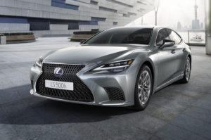 Lexus LS 2020 сначала дебютирует в Европе