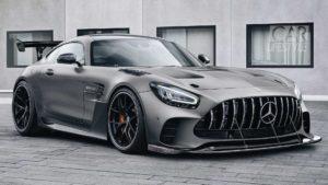 Mercedes-AMG GT Black Series самый мощный «Мерседес» в истории