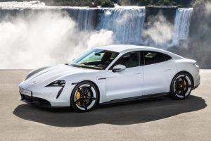Porsche Taycan стали доступны новые цвета кузова
