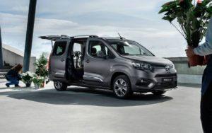 Toyota ProAce City практичный вэн для семьи и бизнеса