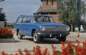 Волга Газ 2402 первый отечественный семиместный универсал