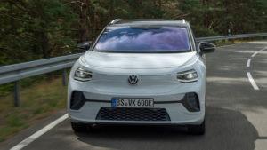 Volkswagen ID.4 первый электрический кроссовер Volkswagen