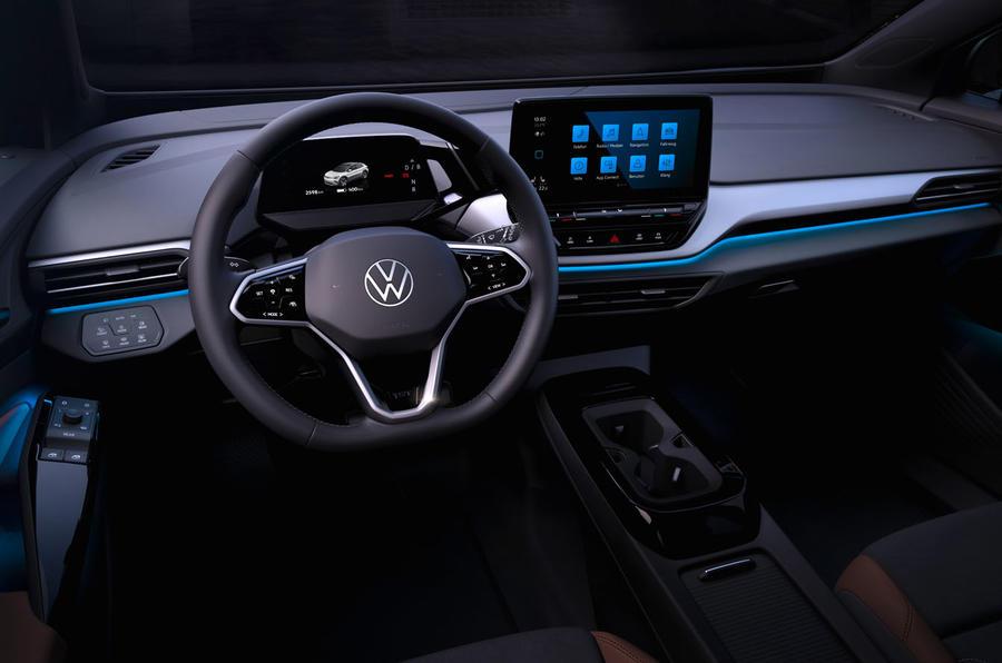 Volkswagen ID.4 салон