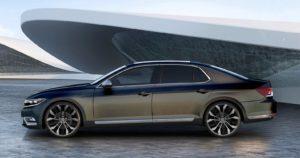 Volkswagen Phideon обновление самого большого седана бренда